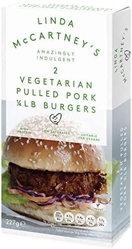Hamburguesas de Cerdo Tiradas Vegetarianas 1 / 4lb (VEGANO ...