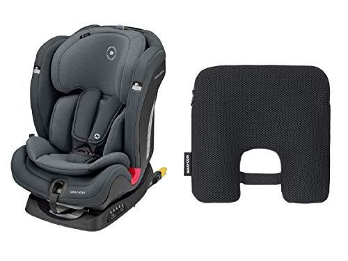 Bébé Confort Titan Plus Seggiolino Auto Isofix 9-36 Kg Reclinabile, 9 Mesi -12 Anni, Gruppo 1 2 3, Regolazione Automatica Temperatura...