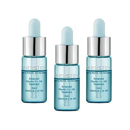Artistry Intensive Skincare Advanced Vitamin C + HA Treatment 3 PCS #120524 0.40 fl. oz./12 mL