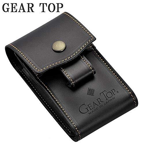 GEAR(道具)TOP(頂点)を目指す日本ブランドのシガレットケース。 GEAR TOP シガレットケース GT-301 ブラック 〈簡易梱包