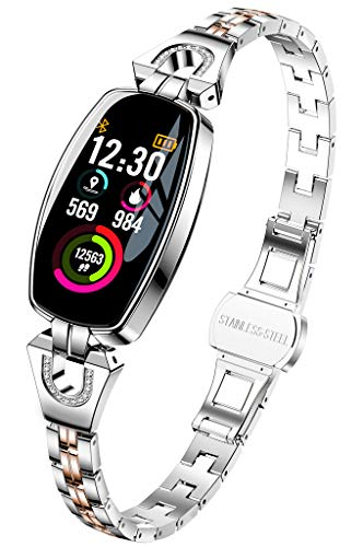 ZSP Smart Watch sporthorloge sportarmband HD-kleurendisplay weersvoorspelling IP67 waterdicht hartslag- en bloeddruk- gezondheidscontrole, vrouwelijke armband
