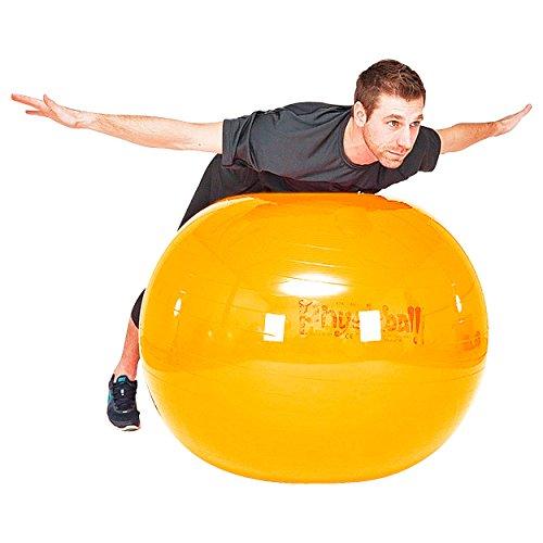PEZZI Gymnastikball Sitzball Yogaball Bürostuhl Büroball Fitnessball 105 cm GELB