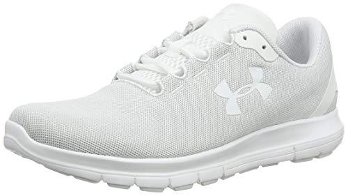 Under Armour UA W Remix, Zapatillas de Running para Mujer, Blanco (White/Elemental/White 103), 38 EU