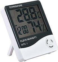 greencolo urful multifunción–Indoor electrónico higrómetro termómetro de 1HTC Higrometría higrómetro