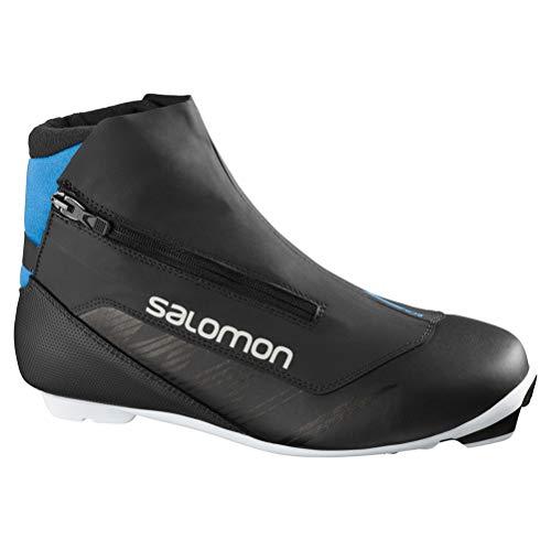 Salomon Nordic Rc8 Nocturne Prolink, Herren Skischuhe, Schwarz - Schwarz - Größe: 46 EU