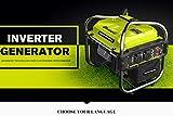 Del Relé Generador portátil 2000W gasolina arranque...