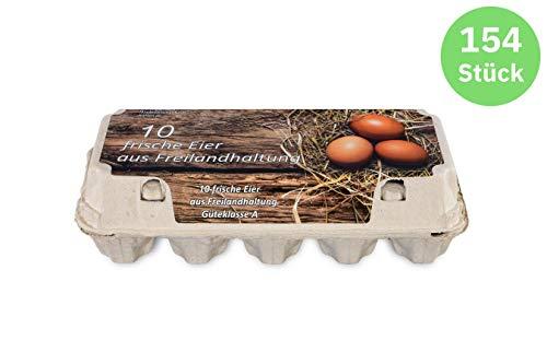 Funny 10er Eierkarton Freilandhaltung 154 Stück