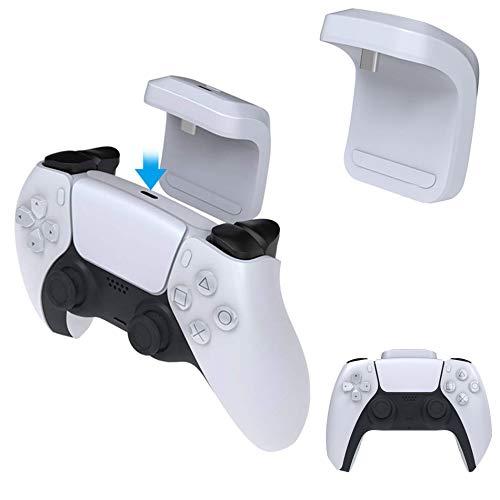 Fbewan 1500mAh Wireless Handle Akku für PS5 Dualsense Controller, Schnellladung Externes Ladegerät für Akkus mit LED-Anzeige für PS 5,Weiß