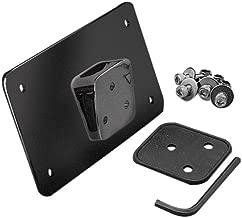 DLLL Piloto de matr/ícula Trasero Custom Universal con soporte compatible con la mayor/ía de las aplicaciones personalizadas compatible con la mayor/ía