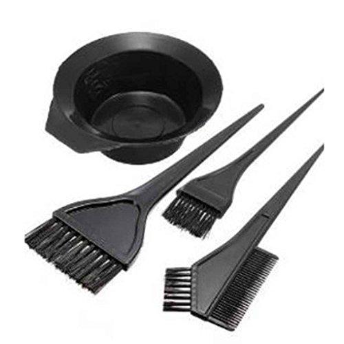 Aiming 4pcs Tinte de Pelo para Colorear el Peine del Cepillo Cuenco de peluquería Estilo Herramientas Duradero