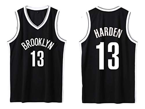 PUPPYY Brooklyn 13# Harden - Camiseta de baloncesto de secado rápido, uniforme de baloncesto unisex transpirable, regalo de baloncesto XL