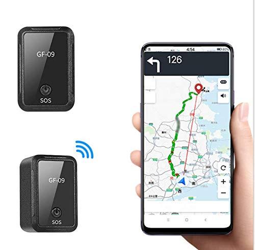 Mini rastreador GPS para niños, magnético, con aplicación gratuita, pequeño localizador GPS para coche, bicicleta, antihuellas, seguimiento GPS en tiempo real para bolsos, carteras, mochilas y coches