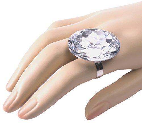Forum Novelties Jumbo 'Diamond' Ring