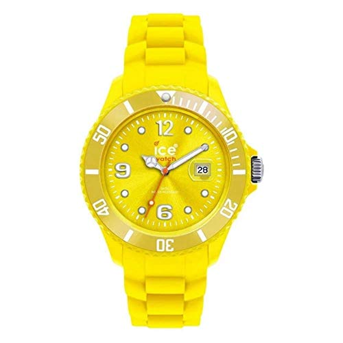 Ice Watch Sili Forever Small Armbanduhr gelb SI.YW.S.S.09