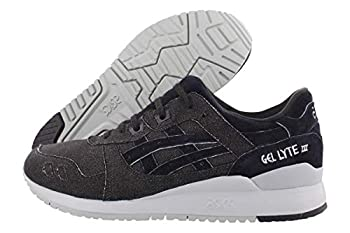 ASICS Tiger Men s Gel-Lyte Iii Mid Grey/Black Ankle-High Sneaker - 10.5M