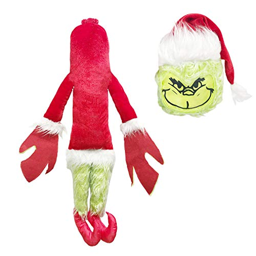 OUYG Elf Body for Christmas Tree Decorations Grinch Plush
