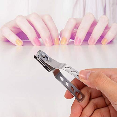 Cortador de uñas, cortaúñas de material de acero inoxidable estable y duradero Fácil de operar para clavos