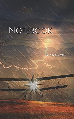 Notebook: aircraft emergency landing storm flash forward super hero superhero superheroes plane