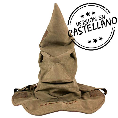 Yu me-Sombrero Seleccionador en Español Harry_Potter, Color marrón (Yume 4895217530879)