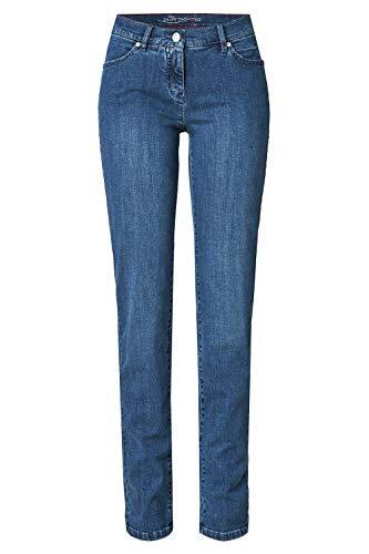 TONI Damen 5-Pocket-Jeans »Perfect Shape« mit figurformendem Effekt 42 Mittelblau