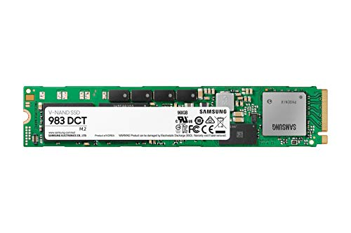 Samsung 983 DCT Series SSD 960GB - M.2 NVMe Interface Internal Solid State Drive with V-NAND Technology for Business (MZ-1LB960NE)