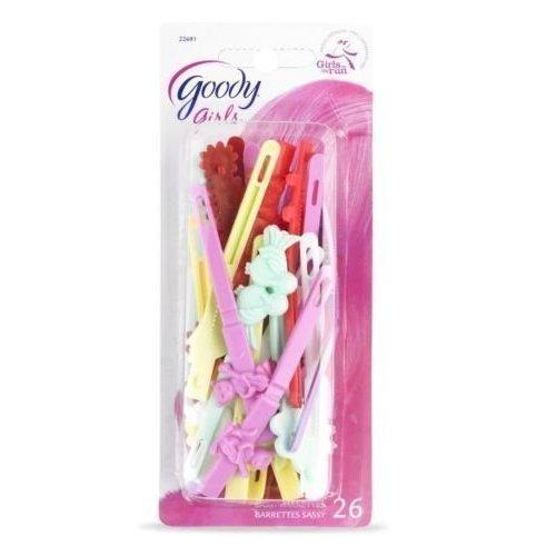 Goody Girls Classics Barrettes, Self Hinge, 1.5 Inch, 26 Count