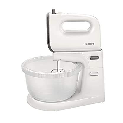 Philips-HR374500-Kuchenmaschine-Plastik-Grau-Wei