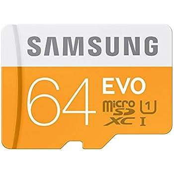 Samsung Evo MB-MP64DU2/EU - Tarjeta de memoria Micro SDXC de 64 GB ...
