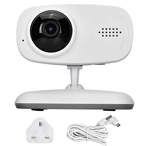 Ruining Cámara IP WiFi, Monitor de bebé con cámara, Cámara IP, Profesional Más(British regulations (100-240V))