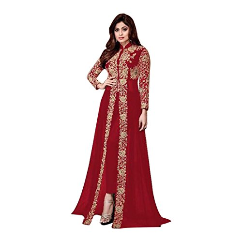 Ready to wear Rot Brauch zu messen pakistanischen Muslim Bollywood Mädchen Hochzeit Hosen Zeremonie Bollywood Party Wear Dirndl Kostüm Damen Designer Frauen Indian Salwar Kameez Kamiz 651