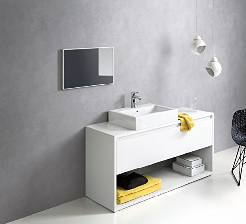 Hansgrohe – Waschtischarmatur, Ablaufgarnitur, CoolStart, ComfortZone 110, Chrom, Serie Metris - 4