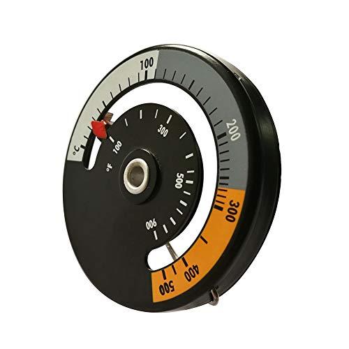 NAttnJf Mètre de température de Barbecue de Four de ménage de thermomètre de Fourneau d'alliage d'aluminium