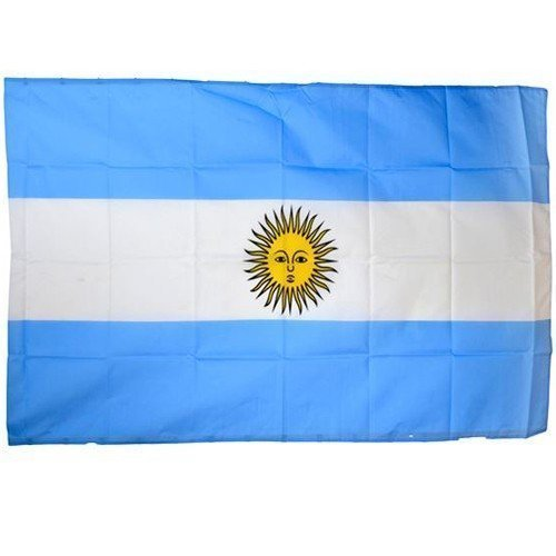 Argentinien Flagge Fahne Flag Argentine Bandiera WM EM Nationalmannschaft Calcio