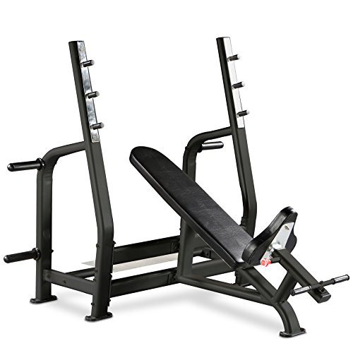 Bodymax Black BE285 Commercial Olympic Incline Bench