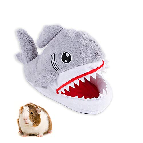 FLAdorepet - Cama de hámster para Jaula de tiburón de cobaya, cálida para Invierno, casa de Cama de Animales pequeños para Ardilla, Rata, Chinchilla