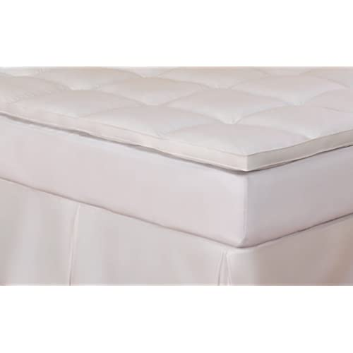 Hollander Cluster Fiber Fill Fiberbed, 233 Thread Count, King