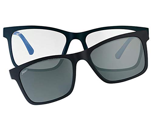 Blue Blockers, Polarized Magnetic Clip-on Sunglasses, Lennox DUO Series
