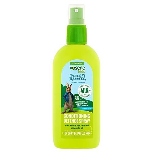 Vosene, spray di livello avanzato repellente contro i pidocchi, per bambini, emolliente, da 150ml