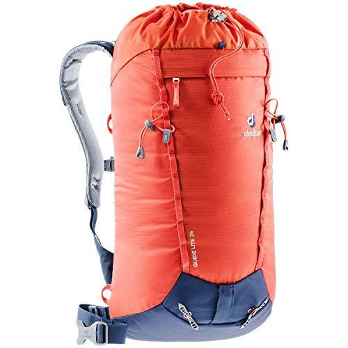 Deuter Unisex-Adult Guide Lite 24 Daypack, Papaya-Navy, 56 x 27 x 19 cm