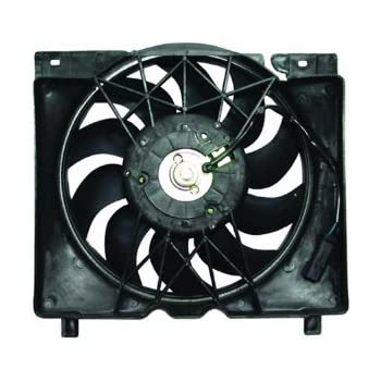 Replacement Dual Function Cooling Fan Assembly with Single Fan