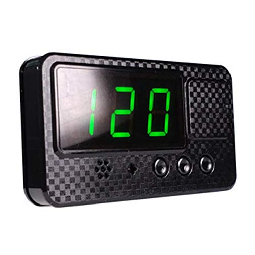Tacómetro GPS HUD digital universal para coche con alarma de Fática, velocidad extravagante, Plug and Play, carga USB, para coche, camión, moto y bicicleta