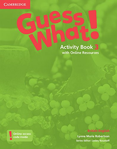 Guess What. 3 - Activity Book With Online Resources - British English