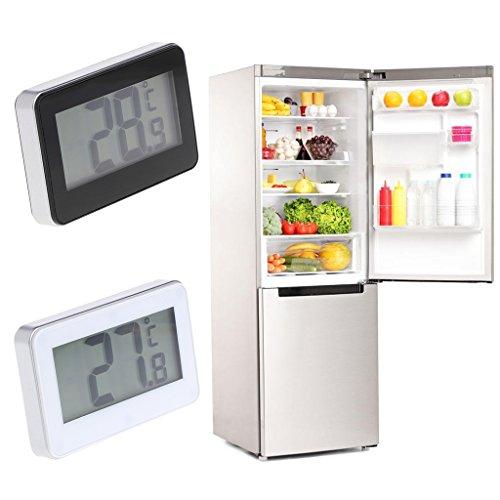 Qiulip - Termómetro impermeable para frigorífico con gancho para ...