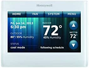 Honeywell Wi-Fi 9000 Color Touchscreen 7 day programmable or Non-Programmable Thermostat - Color - TH9320WF5003/U TH9320WF-c1
