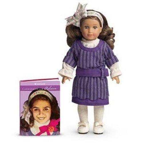 2011 Limited Edition Discontinued American Girl 25th Anniversary Rebecca Mini Doll and Mini Book