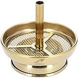 Smokezilla® Chimenea para shisha – Color dorado, apto para cazuela natural de acero inoxidable, 4 piezas Pipa de agua