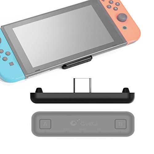 Sutefoto Route Air Bluetooth-Adapter Kompatibel für Nintendo Switch/Switch Lite PS4-PC, Dual-Stream-Bluetooth-Funksender mit aptX-geringer Latenz Verbinden Sie Ihre AirPods Lautsprecher Kopfhörern