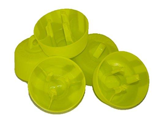 Roberto Carello Tap TRAP - Tapón de plástico para botellas 5 unidades.