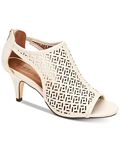 Price comparison product image Style & Co. Womens Hyrine Open Toe Special Occasion Mule,  White,  Size 7.0