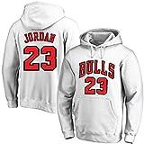 ANHPI Michael Jordan # 23 Chicago Bulls - camisetas de baloncesto de los hombres de fans masculinos formación sudaderas (Color : C, Size : S)